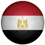Egypt Football Flag 25mm Button Badge